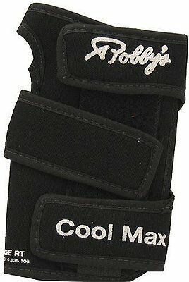 Robby's Coolmax Original Left Wrist Support, Black, Large