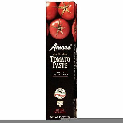Amore Italian Tomato Paste -- 4.5 oz (Pack of 2)