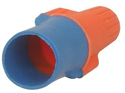 3M O/B+  Performance Plus Wire Connector, Orange with Blue Skirt, 100 Per B