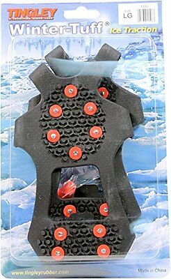 Tingley Rubber 1150 Pull-On Ice Traction Studded Outsole, Large