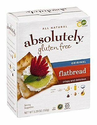 Absolutely Gluten Free Flatbread, Original, 5.29-Ounce (Pack of 6)