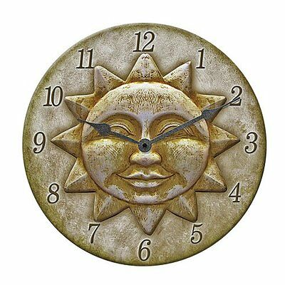 Springfield Sun Clock Indoor/Outdoor 12""
