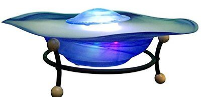 Canary Products Tabletop Mist Fountain, Blue