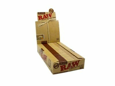 RAW Organic Unbleached 1.25 Rolling Papers - 5 Pack