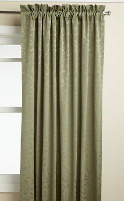 Lorraine Home Fashions Whitfield 52-inch by 84-inch Window Panel, Sage