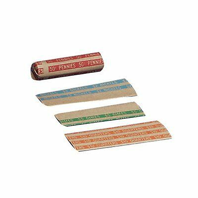 Coin Wrapper, 1000 per Box, Various Denominations Denomination: Nickels-Blu