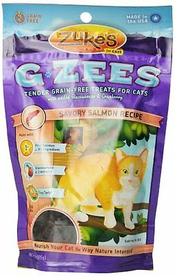 Zuke's Cat G-Zees Savory Salmon Recipe, 3-Ounce