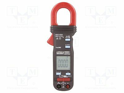1 pc AC/DC digital clamp meter; ¨cable:30mm; LCD 3,75 digit (4000)