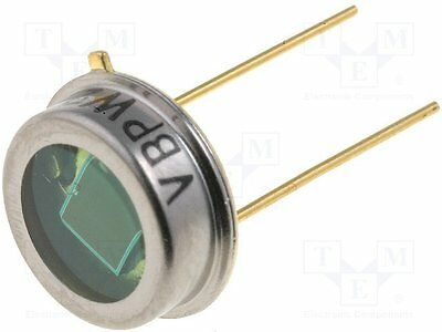 1 pc Photodiode; 565nm; 420-675nm; 100°; Mounting: THT