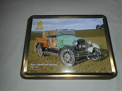 "Mac""s Butter Shortbread Biscuit Tin  '' 1928 Farm Ute ''"
