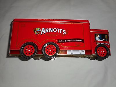 ARNOTT'S RED TRUCK A-141  BISCUIT TIN  480g