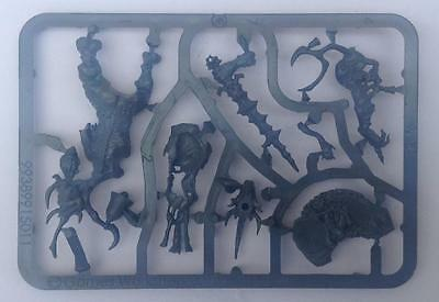 warhammer 40000 / Age of Sigmar chaos daemons Herald of Nurgle new on sprue
