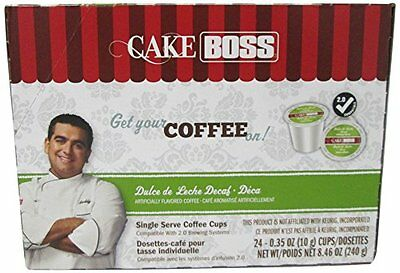 The Cake Boss Italian Rum Cake Single Serve Coffee Cups, 24 Count