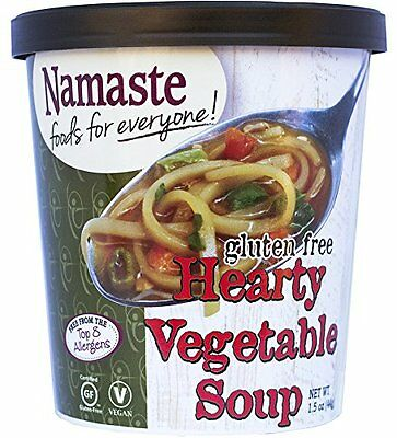 Namaste Foods Gluten Free Hearty Vegetable Soup, 1.5 Ounce (Pack of 12)