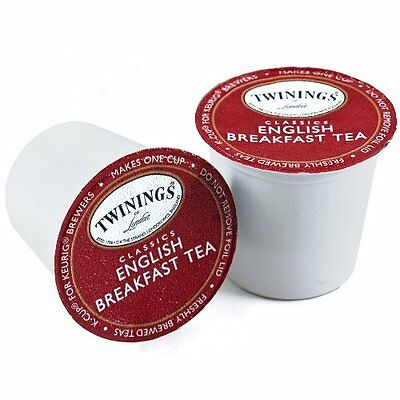 Twinings English Breakfast Tea Keurig K-Cups, 48 Count