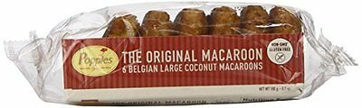 Poppies The Original Traditional Coconut Macaroons, 6.7 Ounce