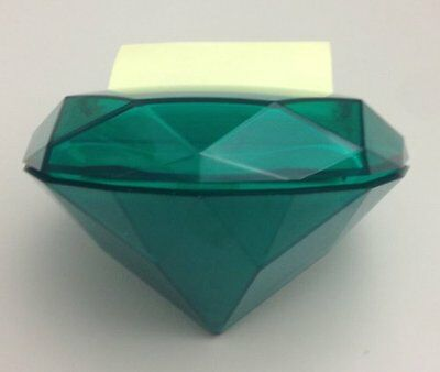 Post-it Pop-up Notes Dispenser for 3 x 3-Inch Notes, Emerald Shaped