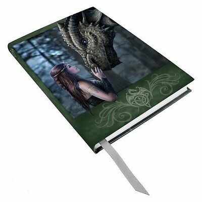 Anne Stokes Once Upon A Time Fairy Dragon Hard Cover Embossed Journal Book