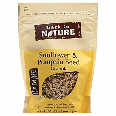 Back to Nature Sunflower and Pumpkin Seed Granola, 11 Ounce -- 6 per case.