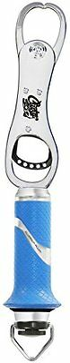 Cuda 11.5-Inch Grip and Fish Scale with Lanyard, Blue