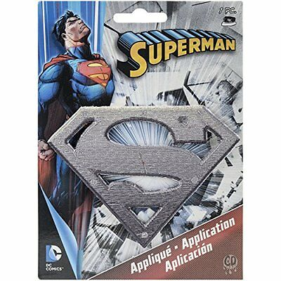 Application DC Comics Superman Metal Logo Patch