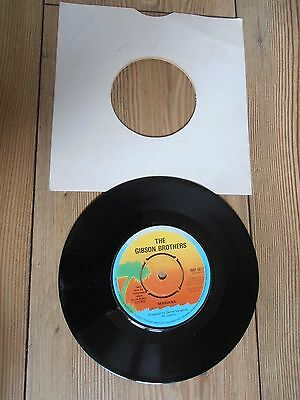 The Gibson Brothers-(Mariana) 1980, 7'' 45rpm, Vinyl Single VG