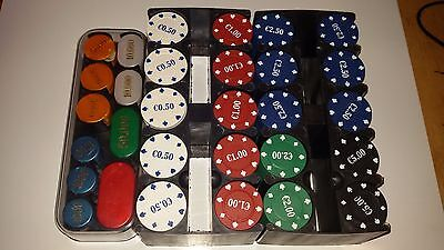 Poker Chips/Fiches