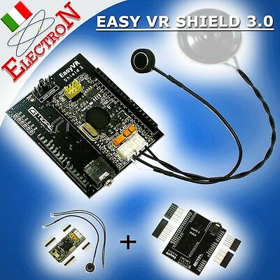 EasyVR Shield 3.0 per Arduino Modulo Riconoscimento Vocale - Speech recognition