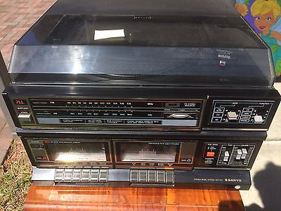 Sanyo Gxt 707 Stereo Music System