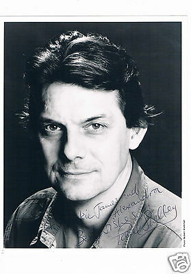 Paul Shelley Actor  Hand Signed Photograph 10 x 8