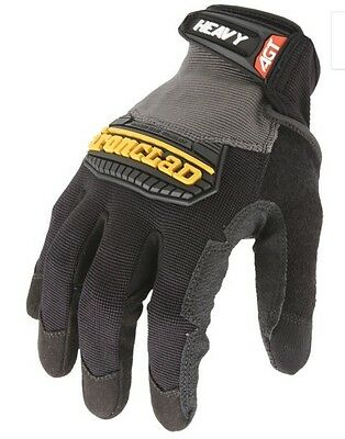 New Ironclad Work Gloves 3 Pairs Size: L