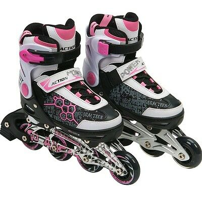 Quad Inline Roller Skates - Adjustable size 4-7 (Smiths Toys)