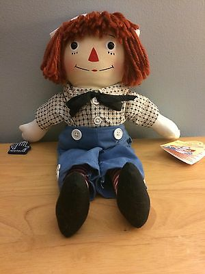"1994 Raggedy Ann's Brother Andy by Applause 12"" Gruelle"