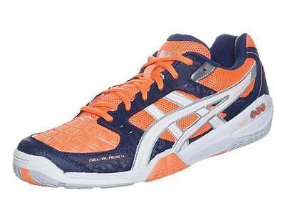 Asics Gel Blade 4 Squash Shoes - Neon Orange - UK 9.5 NEW in BOX