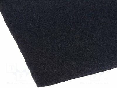 1 pc Upholstery cloth; 1.4x0.7m; self-adhesive; black