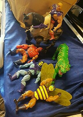 Vintage He-Man-Masters of the universe job lot 1980's toys