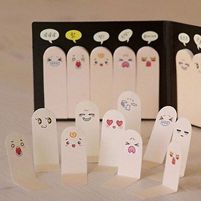 200pages Post-It Bookmark Flags Ten Fingers Memo Sticky Notes Pad Stationery