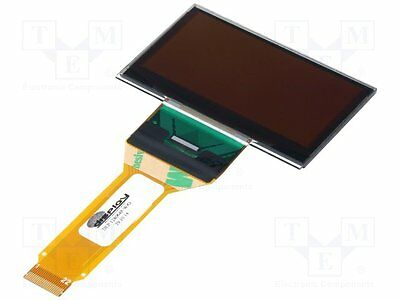 """1 pc Display: OLED; graphical; 2.4""""; 128x64; Dim:60.5x37x2.3mm; yellow"""
