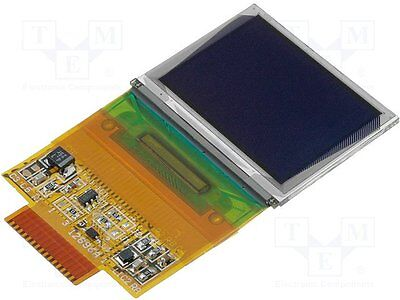"""1 pc Display: OLED; graphical; 1.3""""; 128x96; Dim:33x26.8mm; white"""