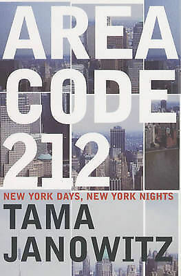 Area Code 212 by Tama Janowitz (Paperback, 2002)-9780747558286-G010