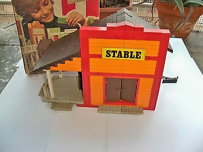 """Antiguo Juguete Exinwest """"stable"""" Ref.2021, Made In Spain"""