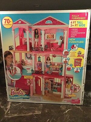 Barbie Dream House 3 Story With Box