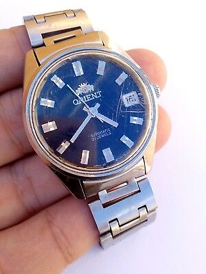 Vintage ORIENT AUTOMATIC 21JEWELS automatic men watch working
