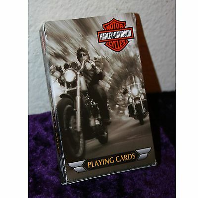 Harley Davidson Playing Cards, Complete with 4 Jokers, Unused by Bicycle Brand