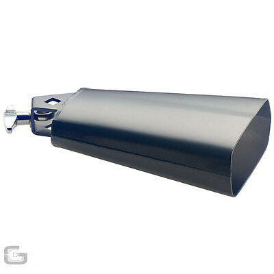 Stagg CB306BK High Quality Professional Mountable Cowbell For Percussion Drums
