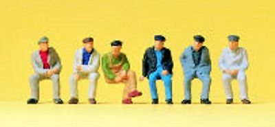 PREISER 14084 1:87 HO SCALE Seated Workers