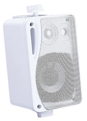 E-Audio 3 Inch Background Music Speakers With Brackets 80w 4 Ohm (colour White)