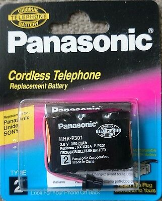 Original/Genuine PANASONIC KXA36A 3.6V 350mAH TYPE 2 P301 Cordless Phone Battery