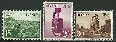 Turkey 1956 '' Promotion Of Tourism For The City Of Troy '' Set Mnh (121)