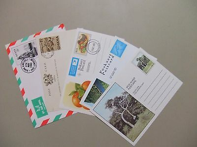 Five Africa countries mint,CTO postal stationery